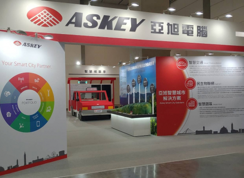 "Askey exhibited ""Your Smart City Partner"" in 2021 Smart City Exposition"
